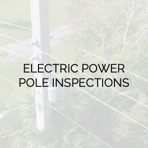 Electric Power Pole Inspection Services
